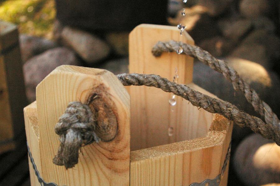 Pirtelė dviems - mediniai kibiukai atsigaininimui po pirties