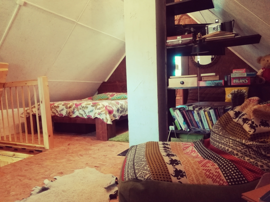 Sodyba Pirtelė dviems - miegamasis